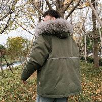 工装棉服男潮牌冬季新款韩版潮流学生加厚宽松棉衣外套帅