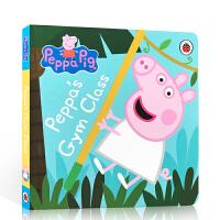 英文原版绘本 Peppa Pig Peppa's Gym Class 小猪佩奇 健身课 宝宝讲故事图书 粉红猪小妹
