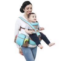 四季通用小孩抱娃单坐登婴儿背带宝宝前横抱式腰凳