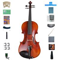 思雅晨Saysn小提琴初学入门演奏晋级考级成年人儿童练习考级小提琴 四分之一二三四系列 全手工雕花小提琴