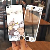 苹果5s手机壳硅胶iphone5女款全包防摔se可爱卡通韩国个性创意潮