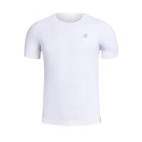 特步男装运动休闲服透气短袖T恤984229011469