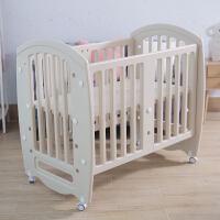 20190708165654955欧式婴儿床拼接大床多功能新生儿宝宝bb床无漆游戏床摇篮蚊帐儿童