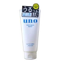 【正品保证】资生堂 UNO吾诺玻尿酸毛孔清透洁面/洗面奶130g 温和洁净滋润保湿