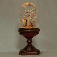 圣诞酒盅圣诞老人床头灯LED发光摆件厂家出口欧美179 13.5*13.5*35