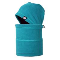 抓绒帽子男户外冬季面罩头套女加厚保暖防风蒙面帽围脖滑雪帽