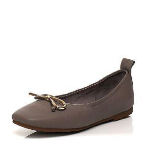 Belle/百丽2017春专柜同款时尚复古奶奶鞋女皮鞋BNS05AQ7