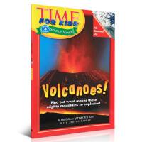 Time for Kids Volcanoes时代儿童百科普读物: 火山英文少儿书籍