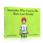 【顺丰速运】英文原版 Alexander, Who Used to Be Rich Last Sunday 汪培�E推荐