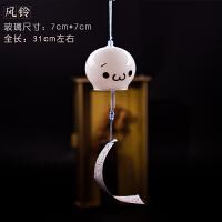 日式樱花玻璃风铃装饰品透明生日礼物创意女生卧室古风小清新