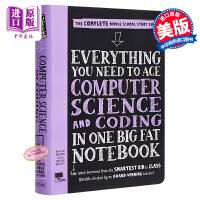 【中商原版】获得A的方法:科学与编码 Computer Science Big Fat 工具书 计算机编程 基础 Bra