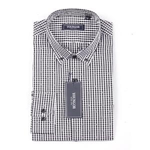 Youngor/雅戈尔男士商务休闲格子全棉秋季长袖衬衫PM18762-01Y