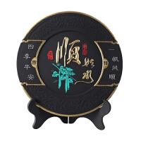 现代中式玄关摆件家居摆件定制礼物中国风小礼品炭雕装饰品