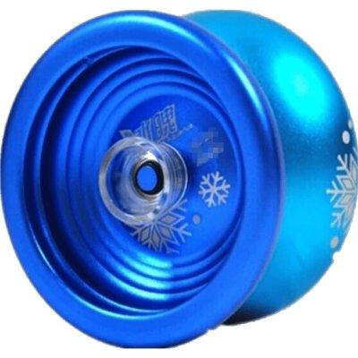 合金冰魄悠悠球75008 冰焰寒冰金属溜溜球玩具