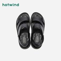【限时特惠 1件4折】热风男士时尚凉鞋H64M9205