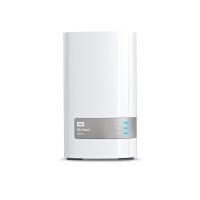 WD/西部数据 3.5英寸4T My Cloud Mirror网络硬盘NAS 云存储4TB WDBWVZ0040JWT