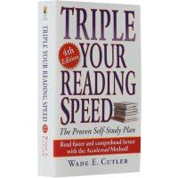 【现货】英文原版 Triple Your Reading Speed 飞速提高你的阅读速度(三倍速阅读法)  第四修订版 便携小开本 随身带随时读