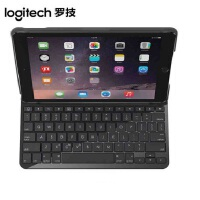 Logitech/罗技 IK1052 无线蓝牙键盘盖保护壳 ipad5平板电脑智能休眠双面保护