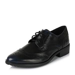 Teenmix/天美意专柜同款小牛皮革女皮鞋6M520CM6