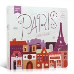 顺丰发货 英文原版绘本 Hello, World: Paris 你好,世界:巴黎 睡前绘本故事 亲子快乐时光 英语入门