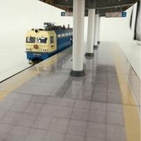 火车模型 HO建筑场景沙盘铁路周边 高铁 高站台 月台 火车站场景品质定制新品