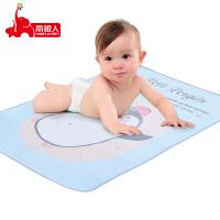 南极人婴儿隔尿垫冰丝凉席两用新生儿宝宝尿布片儿童可洗大号防尿垫防水透气床上用品幼儿园