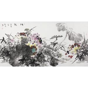 王维舒 》《清韵》   138.68cm