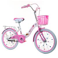 折叠儿童自行车20寸16/18寸女孩单车6-8-10-12岁小学生小孩女童车