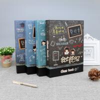 B5活页同学录韩版创意本册欧美风格收录本小学初高中毕业