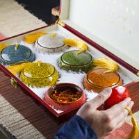 茶叶铁观音礼盒装混搭兰花香节日礼品