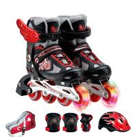 3-10岁男女初学者儿童溜冰鞋全套装直排轮滑鞋旱冰鞋