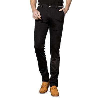 1号牛仔 男士小脚裤子韩版西裤春季休闲裤新款百搭西装裤潮