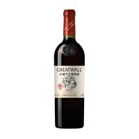 长城干红葡萄酒华夏零八赤霞珠葡萄酒 750ml