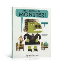 英文原版绘本 My Teacher is a Monster! (No, I am not)我的老师是个怪物(不,我不