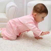 6-12个月新生儿秋季衣服纯棉婴儿周岁宝宝衣服女秋装一岁公主服装