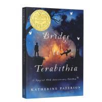 英文原版 欧美电影原著 Bridge to Terabithia 通往特比利亚的桥 纽伯瑞金奖 关于友谊和死亡的思考