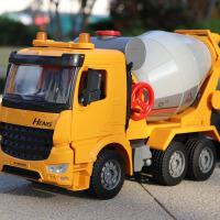 大号儿童玩具车模型翻斗车水泥搅拌车玩具车惯性工程车男孩