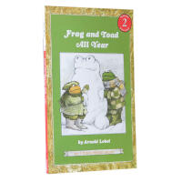 英文原版Frog and Toad All Year 青蛙和蟾蜍汪培�E第三阶段读物