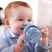 鸭嘴杯儿童鸭嘴水杯宝宝吸管杯婴儿带手柄 学饮杯