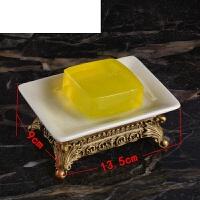 创意家居肥皂盒高档冰裂瓷皂托皂碟欧式复古陶瓷香皂盒 皂盒 尺寸13.5*9.5