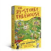 英文原版The 39-Storey Treehouse 小屁孩树屋历险记 39层树屋 插图漫画章节故事书 小学生英语课