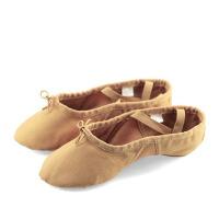 舞蹈鞋女成人软底练功鞋跳舞猫爪形体芭蕾民族舞鞋男帆布透气