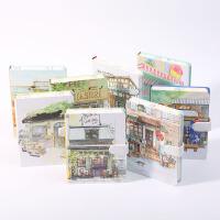 旅手账第二季精装磁扣本创意大学生文具清新加厚笔记本记事本 单本价格