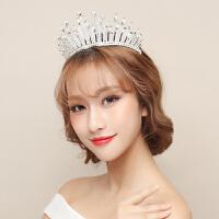 韩式公主头饰品婚纱礼服晚会配饰时尚简约发饰结婚皇冠新娘