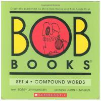 【现货】英文原版 鲍勃书套装4:复合词 Bob Books Set 4: Compound word 4-6岁适读 学前