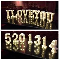 LED数字字母装饰灯求婚布置装饰用品浪漫派对礼品