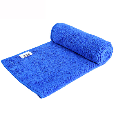 【支持礼品卡支付】佳百丽 纤维 汽车擦巾 柔软不掉毛 33*70cm 蓝色洗车毛巾 毛巾 擦车巾 擦巾
