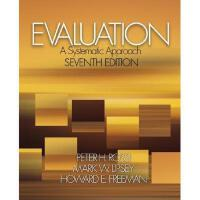 【预订】Evaluation: A Systematic Approach