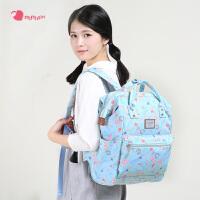 卡拉羊momogirl双肩包女大容量旅行包日韩清新可爱初高中学生书包M5372
