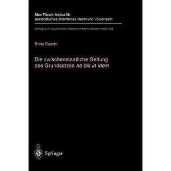 【预订】Die Zwischenstaatliche Geltung Des Grundsatzes Ne 美国库房发货,通常付款后3-5周到货!